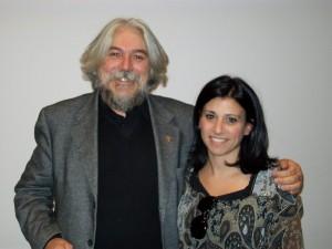 L'avv. Patrizia D'Arcangelo con lo Psichiatra Prof. Meluzzi