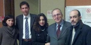 """L'avv. Patrizia D'Arcangelo nel team dei relatori del convegno """"Le Nuove Frontiere del Bullismo"""" _ Brescia 14.12.2012"""