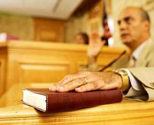 testimone udienza tribunale