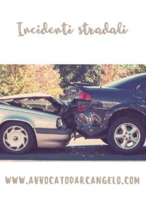 avvocato incidenti stradali